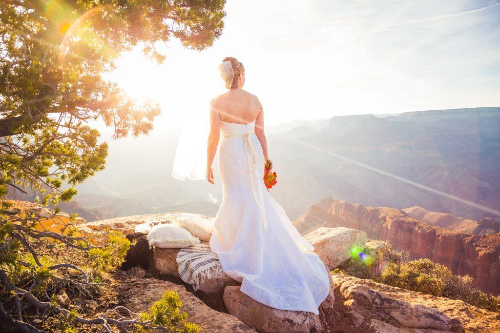 Kara & Michael's Picnic Wedding At The Grand Canyon